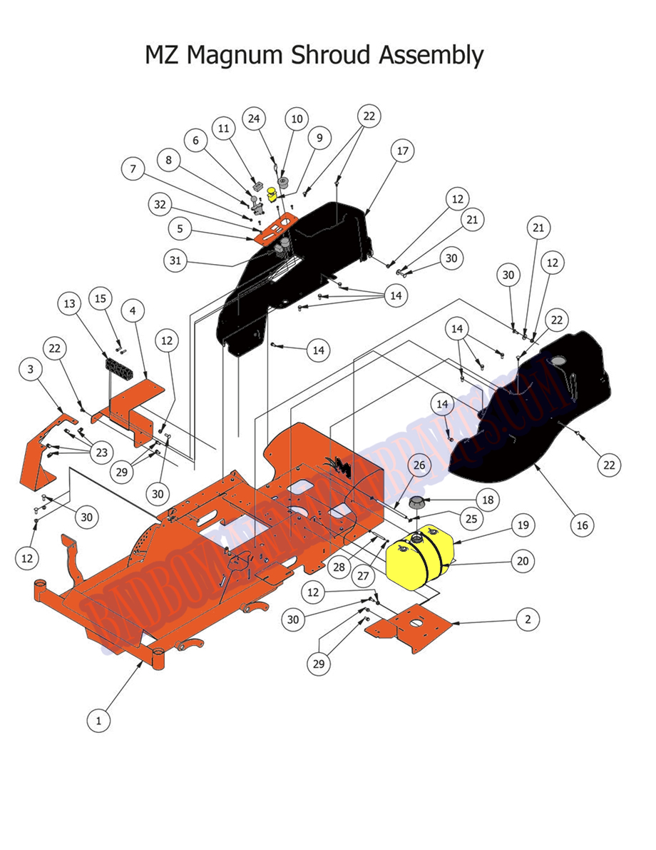 Wiring Diagram Diagram Parts List For Model 13ap609g063 Troybilt