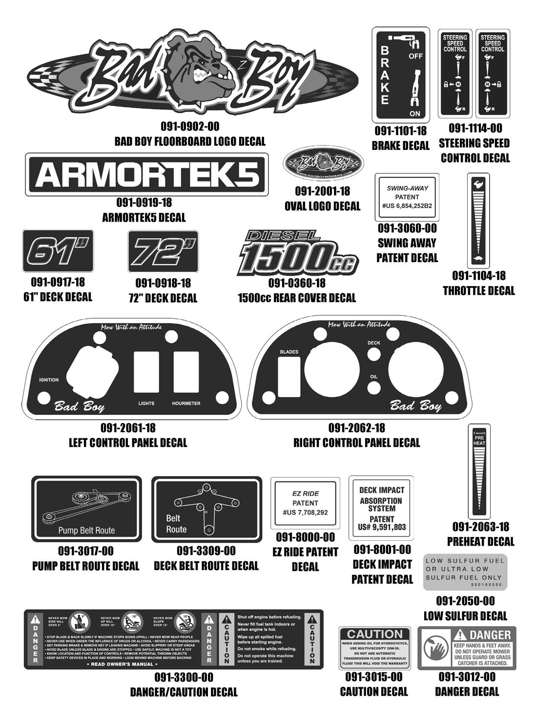 Bad Boy Mower Diesel Series Manual Guide