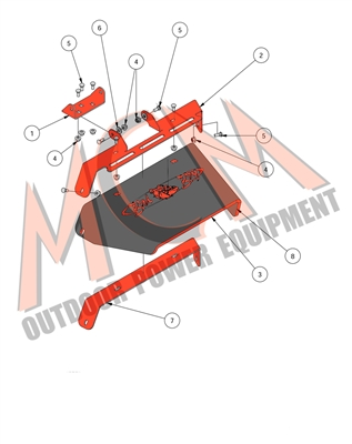 Bad Boy Mower Part 2016 42 Mz Amp 48 Amp 54 Mz Magnum Chute
