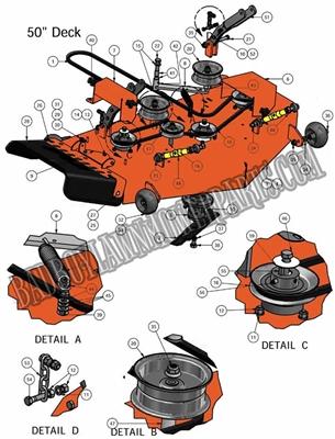 Bad Boy Mower Part 2011 Zt 50 Quot Deck Assembly