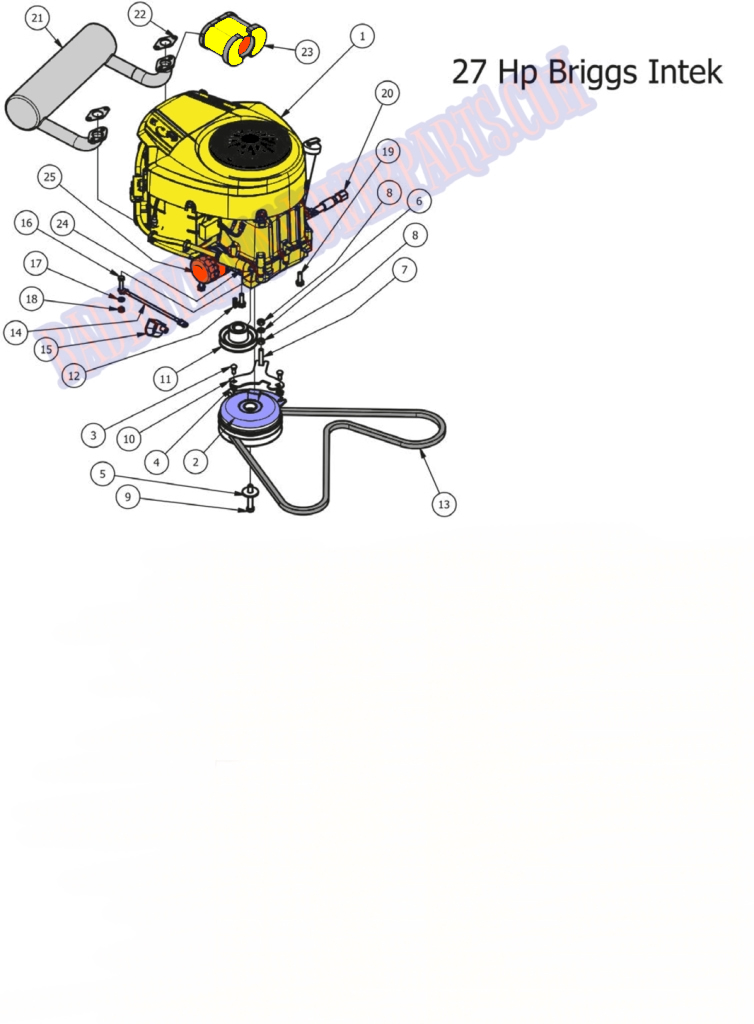 Air Filter Fuel Pump Diagram And Parts List For Briggs Stratton All