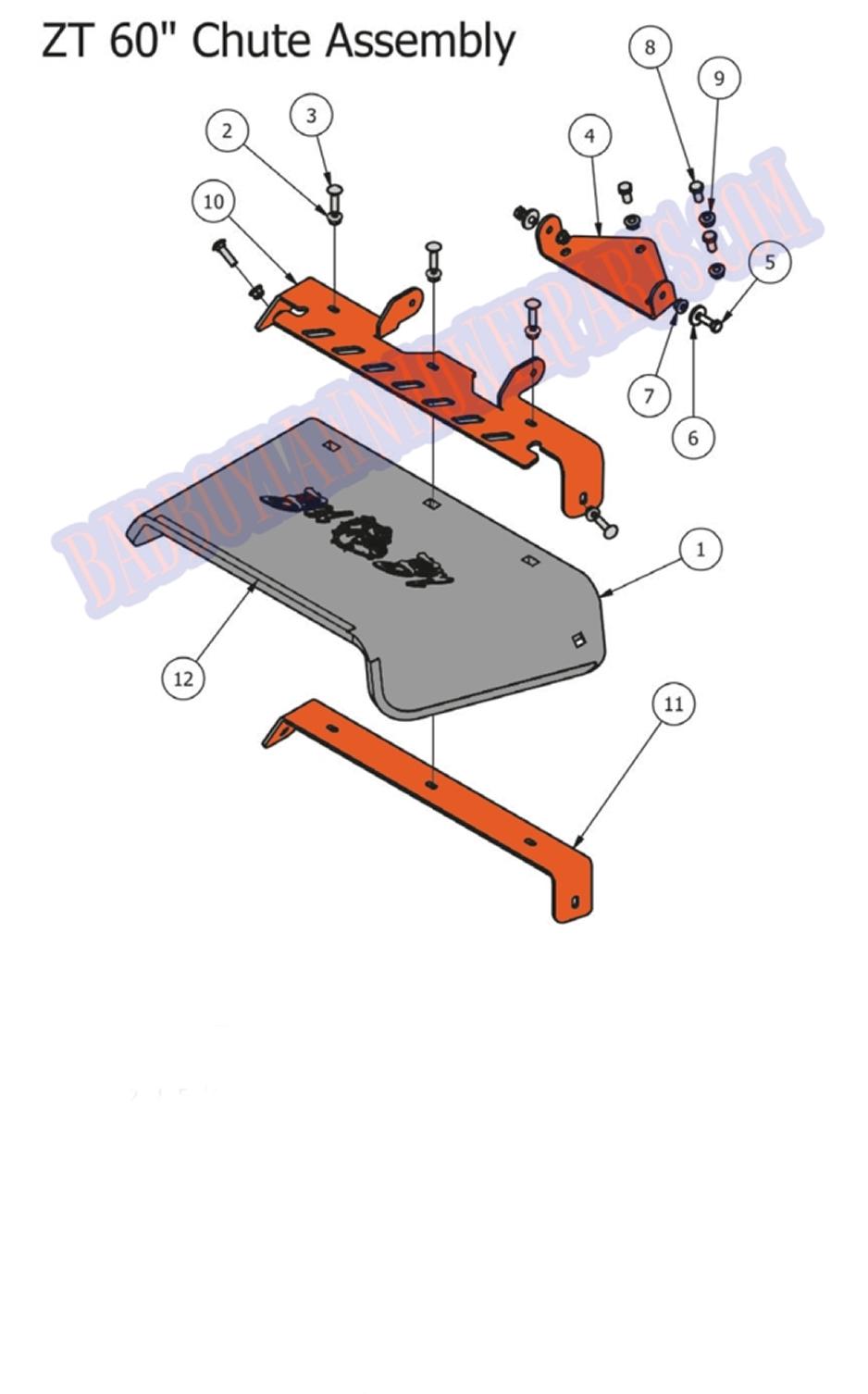 Discharge Push Mower Diagram Parts List For Model 416 Bolensparts