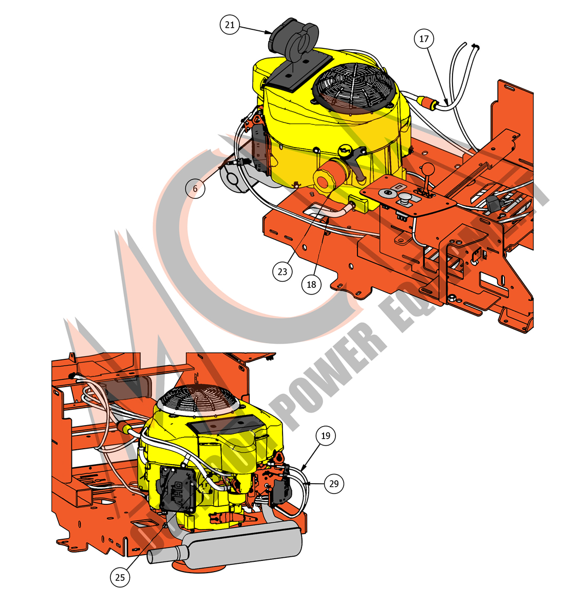 Bad Boy Mower Part, 2018 MZ & MZ MAGNUM KAWASAKI FR-651V ENGINE